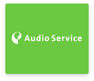 logo audio service
